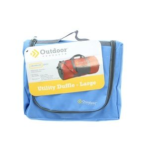 Outdoor Products Large Utility Duffle Bag Blue